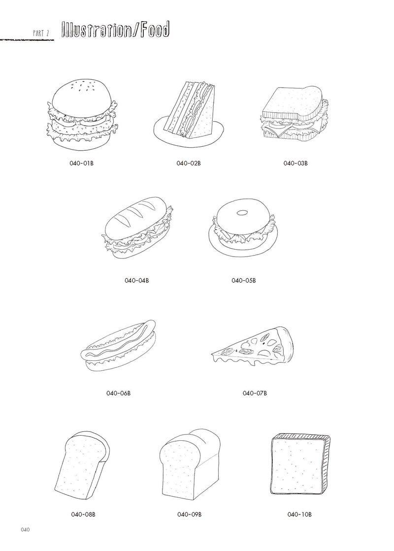 手描きイラスト&タイポ素材集」発売中!(asami)|チョークアート atoa