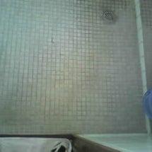 トイレの床掃除 1