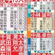WBC侍日本メンバー…