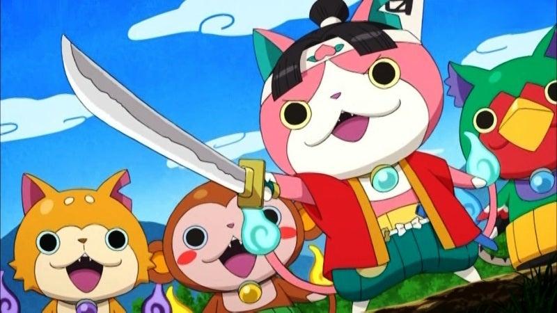 アニメ妖怪ウォッチ第153話にフルーツ宝石ニャンと寝コロンブス