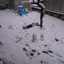 積雪で例年のごとく筋…