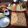 天もり蕎麦とイチゴ大福を栃木からの画像