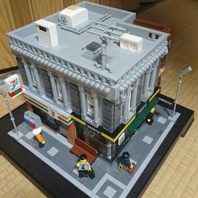 レゴ建物作品「コンビニとカフェ、そしてアパート」①の記事に添付されている画像