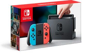 Nintendo Switch Joy-Con ネオンレッド ブルー