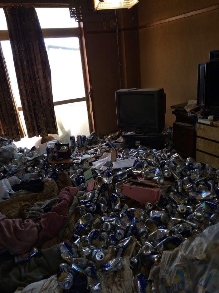 ゴミ部屋で暮らすリスク