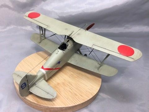 ハセガワ 1/72 九五式戦闘機 完成 | hobby-hobby