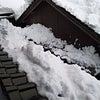 屋根の雪下ろしの画像