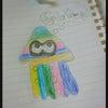 娘が描いたイラスト。の画像