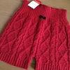D24   赤い下着&毛糸のパンツ♡の画像