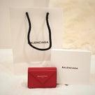 お買い物レポ★バレンシアガの極小財布を買いました!の記事より