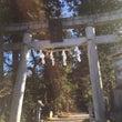 五所駒瀧神社と神の山…