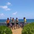 カウアイ島でサイクリ…