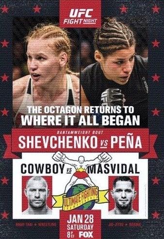 UFC on FOX 23 対戦カード | UFC...