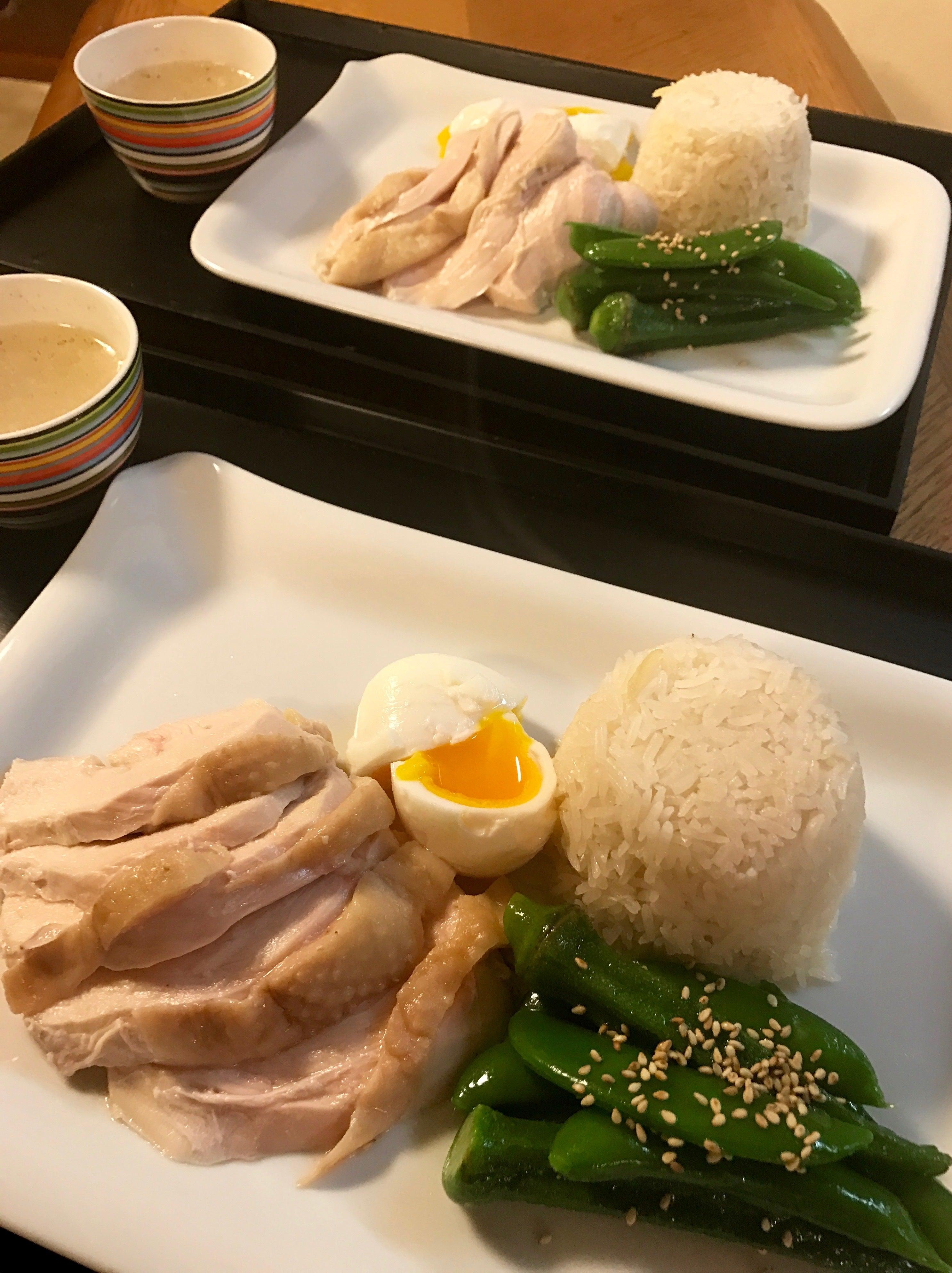Kyoko's Yummy Happy Tableしっとりむね肉でシンガポールチキンライス!