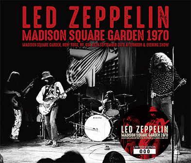 Led Zeppelin Madison Square Garden 1970 Nl Cinnamon
