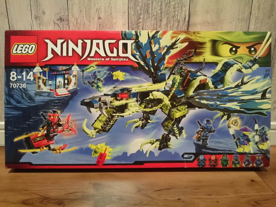 レゴ 70736 ゴースト・モロードラゴン ニンジャゴー