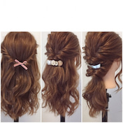 髪の硬い&多い方向け『くるりんぱが可愛くなる3プロセス』