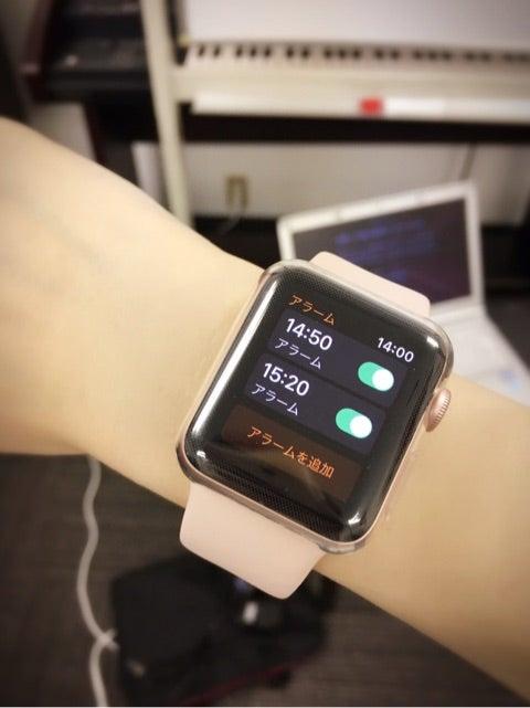 Apple Watchの便利機能♪ | 若林愛オフィシャルブログ「Color Palette ...