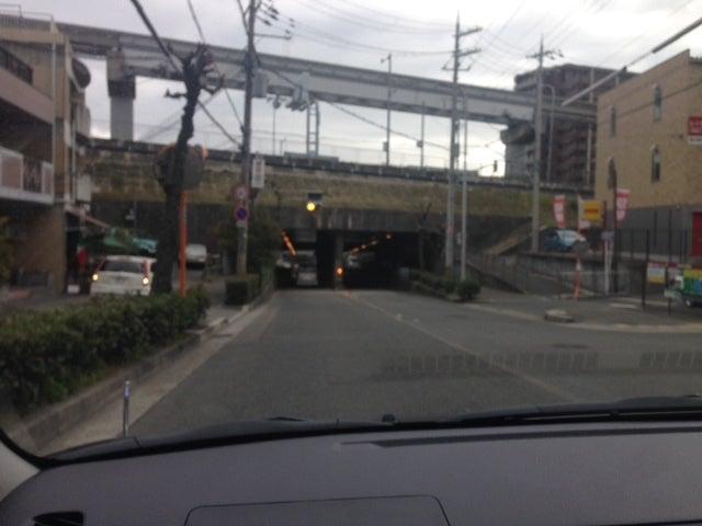 モノレール少路にて 北大阪ペーパードライバー
