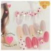 Valentine nail♡の画像