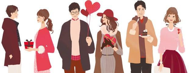 シャンクレール様婚活パーティーwebサイトイラスト