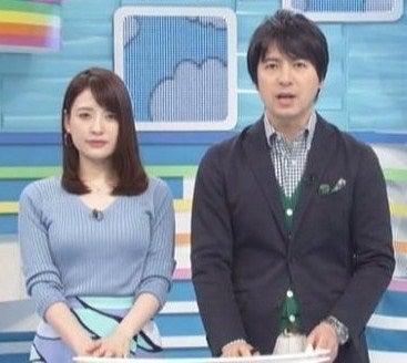 ZIP!】日テレの小熊美香・郡司恭子・佐藤真知子アナ【ニット乳 ...
