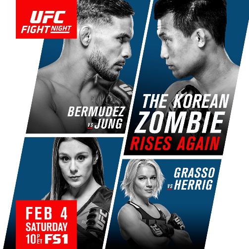 UFN104】UFC Fight Night 104 試...