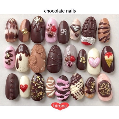 いろんなチョコレート♡