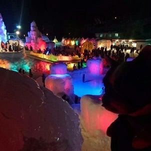 支笏湖の氷濤まつり♪の画像