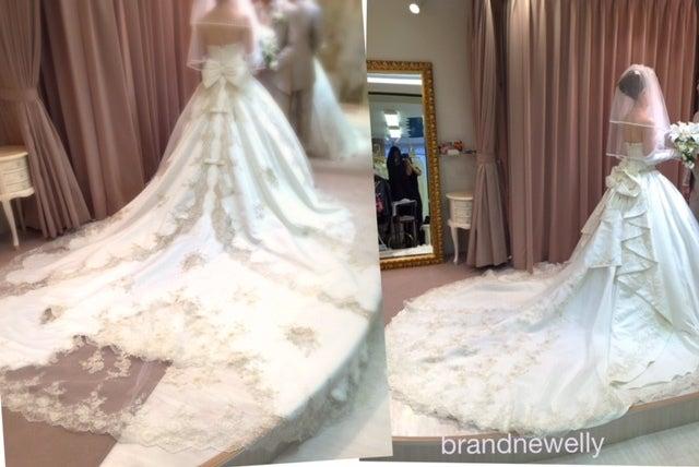 お引渡しレポート 金糸にアレンジ クラシックドレス ウエディングドレスのブランニューエリー Erikaのブログ