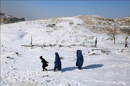 アフガニスタン 大雪