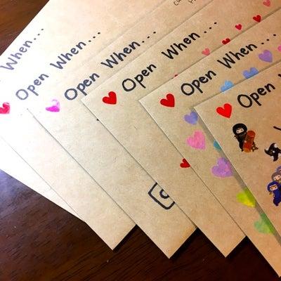 Open when letters プロジェクト♪の記事に添付されている画像