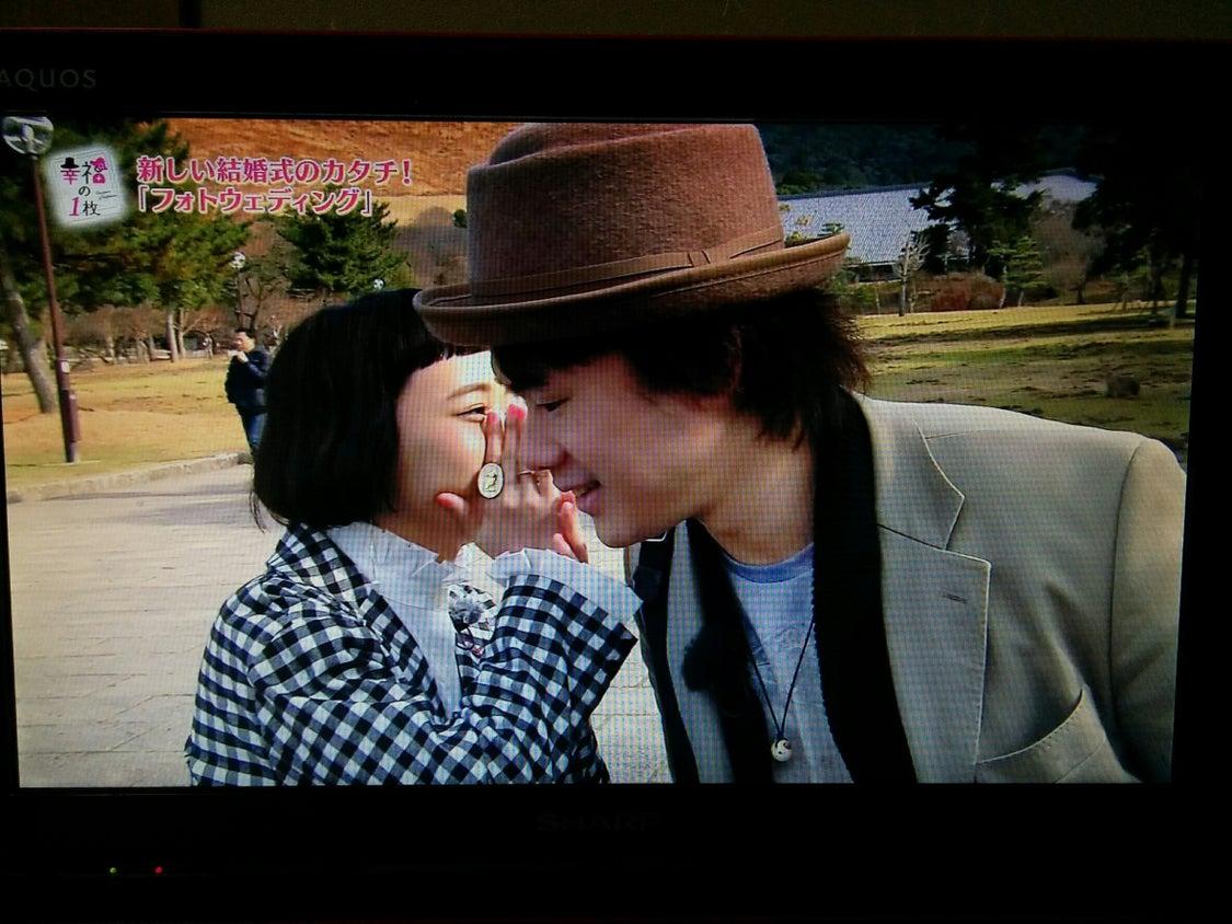 奈良テレビ放送「幸福の一枚」の記事より