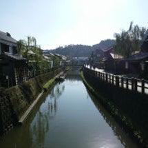 江戸時代の町並みで古…