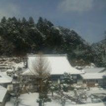 関ヶ原は豪雪……