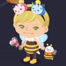 ハチのトータルコーデ…