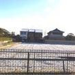 摂津には薄っすら雪が…