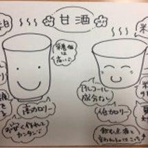 甘酒    酒粕VS…