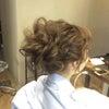 波ウエーブのドレスヘア〜撮影からの画像