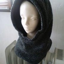 ウール布のアルパカフ…