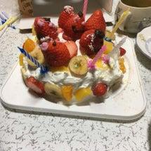 お誕生日。