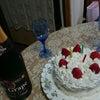 お祝いケーキの画像