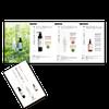 ヘアケア商品リーフレット&HPデザインの画像