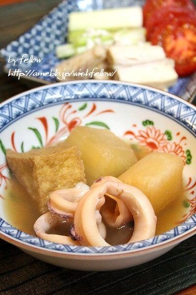 ヤリイカ大根の煮物