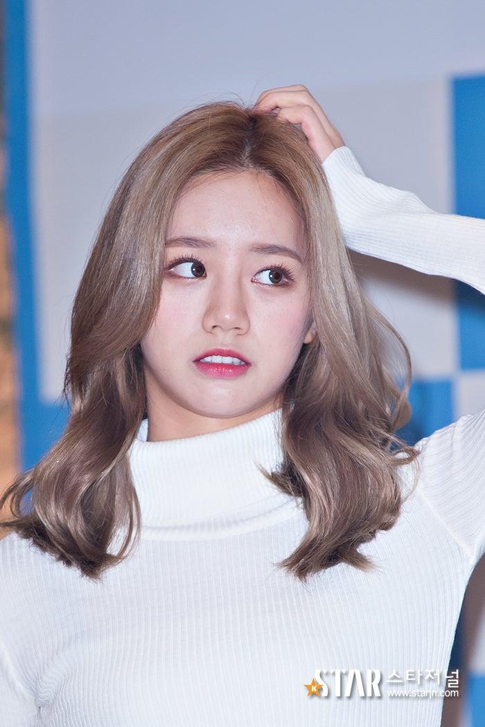 韓国芸能人*ミディアムヘア