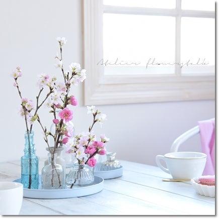 桜 桃の飾り方高崎市フラワーズトーク