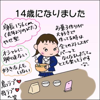 娘の誕生日の記事に添付されている画像