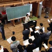 三学年☆合唱練習