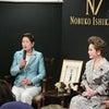 「石川暢子の世界」展で トークショーを 三越本店にての画像