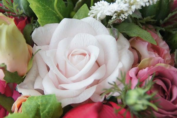 本物みたいなバラ 造花